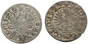 Zygmunt III Waza, Zestaw grosz 1612 i 1614