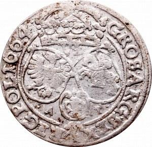 Jan II Kazimierz, Szóstak 1664, Bydgoszcz - L R/VI