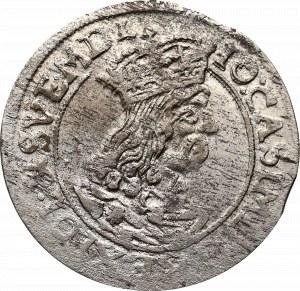 John II Casimir, 6 groschen 1662, Cracow