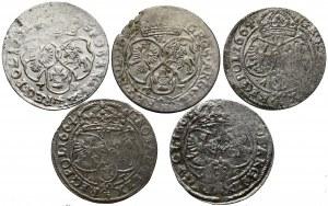 Jan II Kazimierz, Zestaw szóstaków 1661-1665