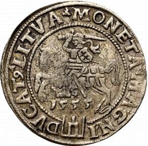 Zygmunt II August, Grosz na stopę litewską 1555, Wilno - rzadkość