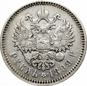 Rosja, Mikołaj I, Rubel 1899 ЭБ