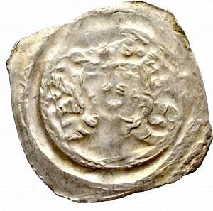 Austria, Rudolf I , Fenig Graz, popiersie w koronie