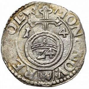 Sigismund III, 1,5 groschen 1614, Cracow