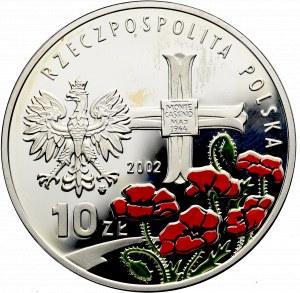 III Rzeczpospolita, 10 złotych 2002, Władysław Anders