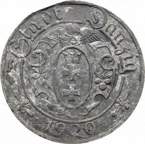 Wolne Miasto Gdańsk, 10 fenigów 1920 - 56 perełek