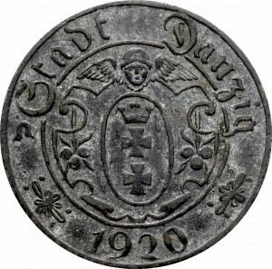 Wolne Miasto Gdańsk, 10 fenigów 1920, 57 perełek