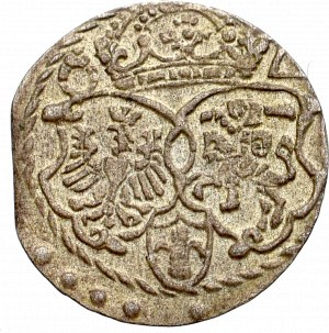 Zygmunt III Waza, Trzeciak 1596, Malbork - bardzo ładny