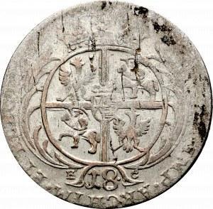 August III Sas, Ort 175* ? Efraimek - kropka po nominale