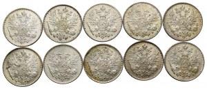 Rosyjska okupacja Finlandii, Zestaw 50 pennia 1911-1917