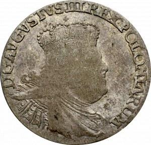 August III Sas, Szóstak 1755 - kropka po dacie