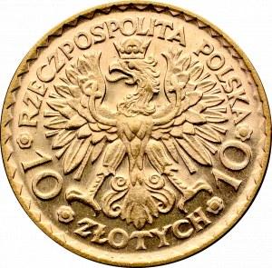 II Rzeczpospolita, 10 złotych 1925 Chrobry - PROOFLIKE