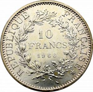 Francja, 10 franków 1966