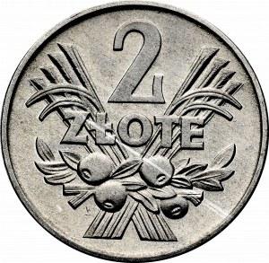 PRL, 2 złote 1958, Jagody