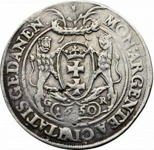 John II Casimir, Thaler 1650, Danzig