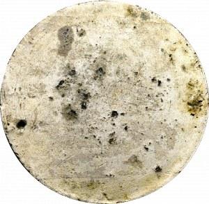 August II Mocny, jednostronna odbitka medalu
