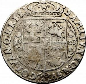 Zygmunt III Waza, Ort 1623, Bydgoszcz - nieopisana przebitka Q/N