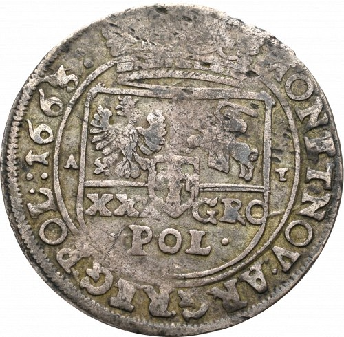 Jan II Kazimierz, Tymf 1663, Bydgoszcz - nieopisany wariant POL•: