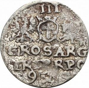 Zygmunt III Waza, Naśladownictwo trojaka 1599