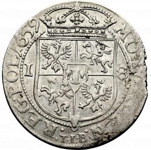 Jan II Kazimierz, Ort 1659, Kraków - piękny