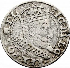 Zygmunt III Waza, Grosz 1607, Kraków - nieopisany POL/POLONI