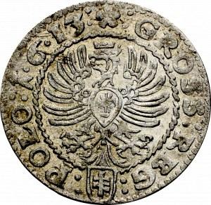 Zygmunt III Waza, Grosz 1613, Kraków - 1•6•13:
