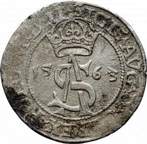 Zygmunt II August, Trojak 1563, Wilno- LI/LI