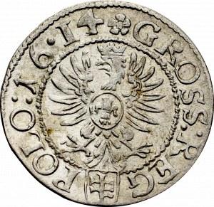 Zygmunt III Waza, Grosz 1614, Kraków - nieopisany 16•14