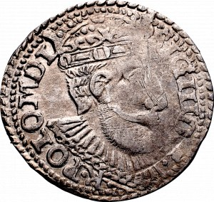 Zygmunt III Waza, Trojak 1599, Olkusz - nieopisany •I•-F•