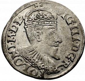 Zygmunt III Waza, Trojak 1595, Olkusz - nieopisany R•POLONI