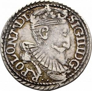 Zygmunt III Waza, Trojak 1597, Olkusz - nieopisany G•-••R