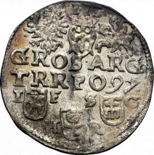 Zygmunt III Waza, Trojak 1597, Bydgoszcz - nieopisany D: