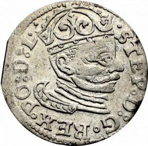 Stefan Batory, Trojak 1583, Ryga