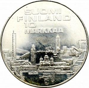 Finlandia, 10 markkaa 1971