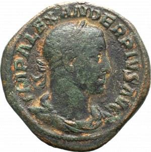 Cesarstwo Rzymskie, Aleksander Sewer, Sesterc - Mars