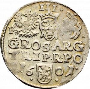 Zygmunt III Waza, Trojak 1601, Wschowa