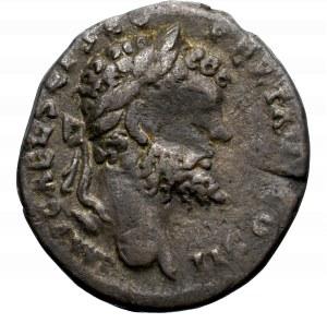 Cesarstwo Rzymskie, Septymiusz Sewer, Denar - rzadki