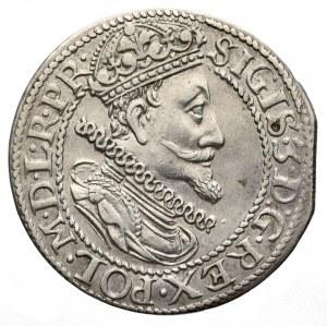Zygmunt III Waza, Ort 1614, Gdańsk - małe cyfry