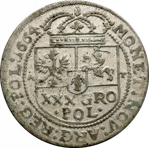 Jan II Kazimierz, Tymf 1664, Kraków - nieopisany :1664