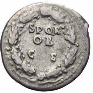 Cesarstwo Rzymskie, Galba, Denar - rzadki