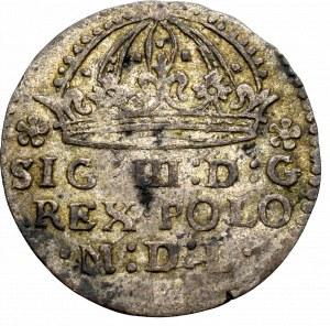 Zygmunt III Waza, Grosz 1609, Kraków - nieopisany POLO/:1609