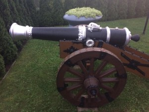 Replika XVII- wiecznej armaty