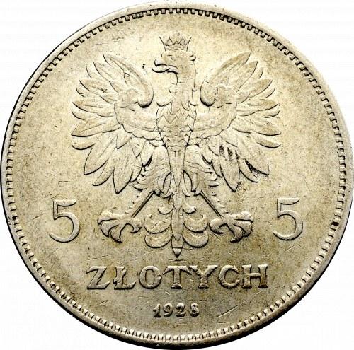 II Rzeczpospolita, 5 złotych 1928 Nike BZM