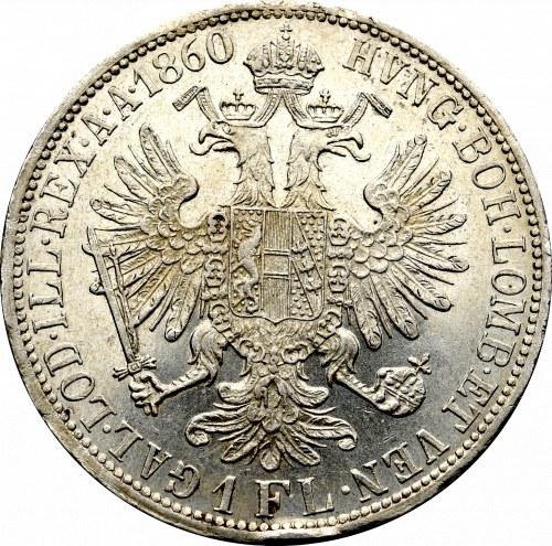 Austria, Franciszek Józef, 1 floren 1860