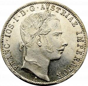 Austria, Franciszek Józef, 1 floren 1861