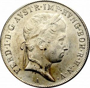 Austria, Ferdynand I, 20 krajcarów 1848 A Wiedeń