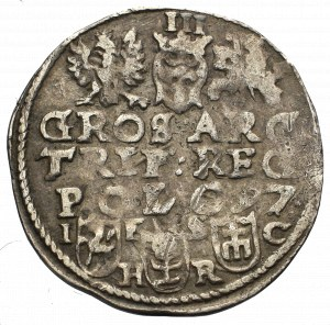 Zygmunt III Waza, Trojak 1597, Bydgoszcz