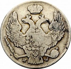 Zabór rosyjski, 30 kopiejek/2 złote 1838 Warszawa