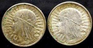 II Rzeczpospolita, 2 złote 1932 (2 sztuki)