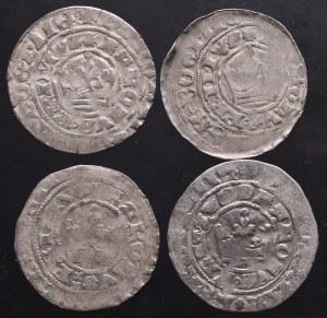 Czechy, Karol IV Luksemburski, Grosz praski (4 sztuki)